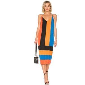 Mara Hoffman new with tags colorblock midi dress